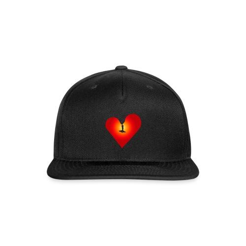 Loving heart - Snapback Baseball Cap