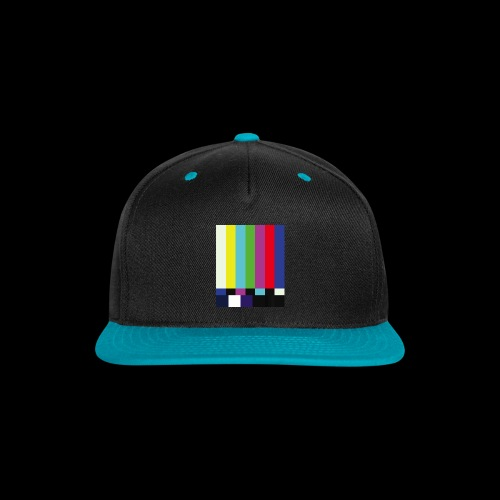 This is a TV Test | Retro Television Broadcast - Snap-back Baseball Cap