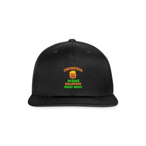 Trumpkin Halloween Shirt - Snap-back Baseball Cap