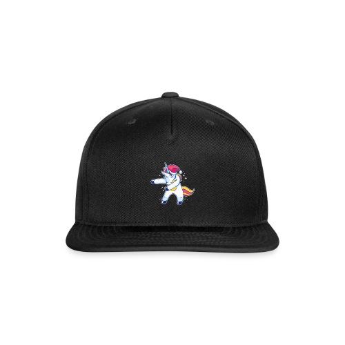 Unicorn Christmas Floss Dance - Snap-back Baseball Cap
