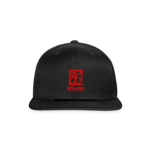MPGU SKETCHER RED II - Snap-back Baseball Cap