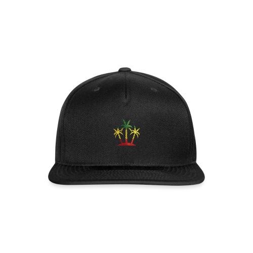 Palm Tree Reggae - Snap-back Baseball Cap