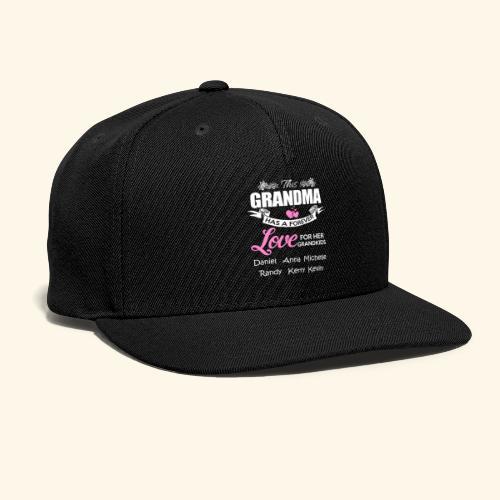 grandma - Snap-back Baseball Cap
