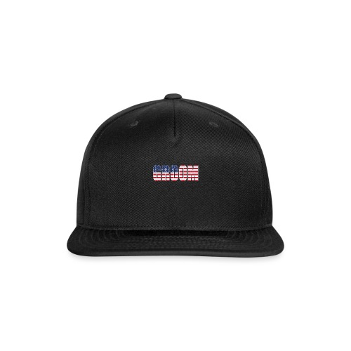 Groom US Flag - Snap-back Baseball Cap