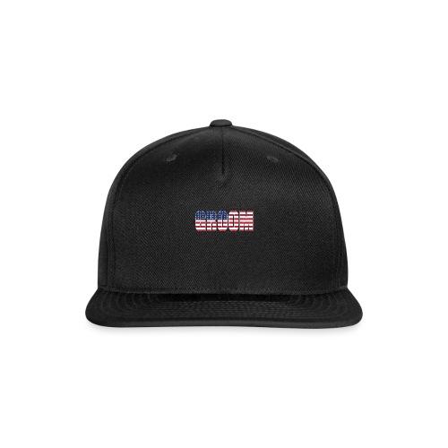 Groom US Flag - Snapback Baseball Cap