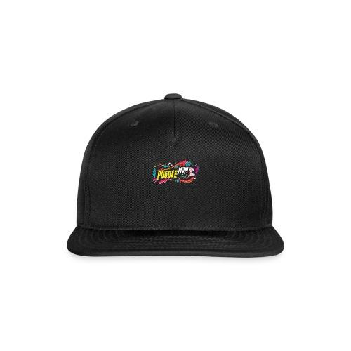Puggle Mom T Shirt - Snap-back Baseball Cap