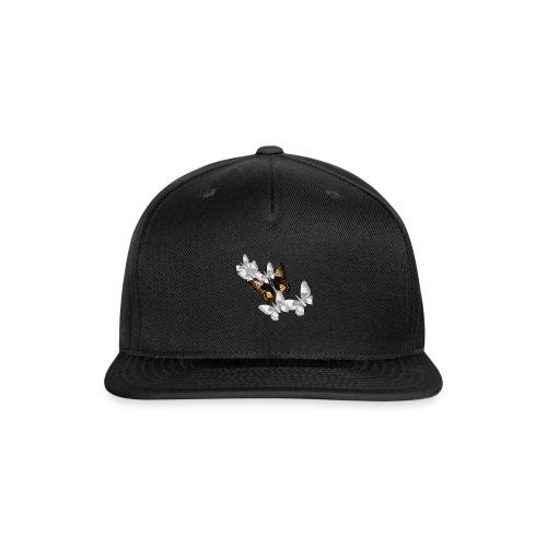 Bullet With Butterfly Wings In Flight. - Snapback Baseball Cap