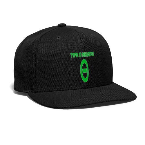 0 negative - Snapback Baseball Cap