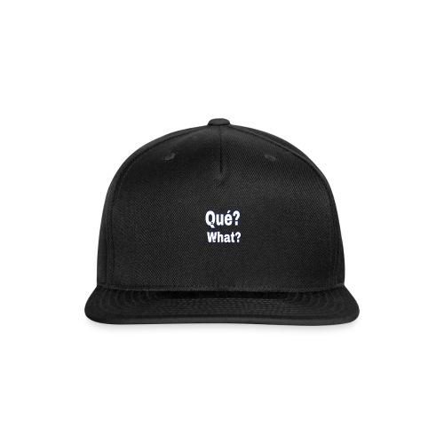 1B4C2355 D508 4AA5 9526 31908BF72611 - Snap-back Baseball Cap