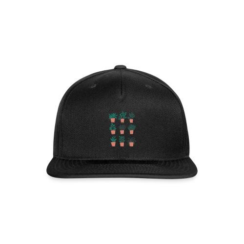 Flowerpots - Snap-back Baseball Cap