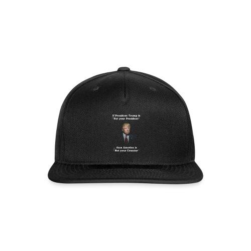 My President - Snap-back Baseball Cap