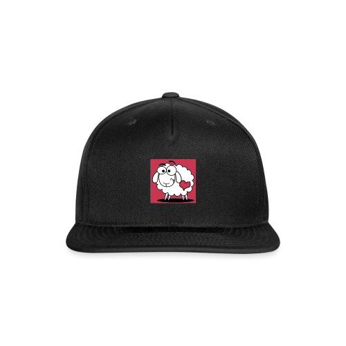 SimAlley Red Sheepy Logo - Snapback Baseball Cap