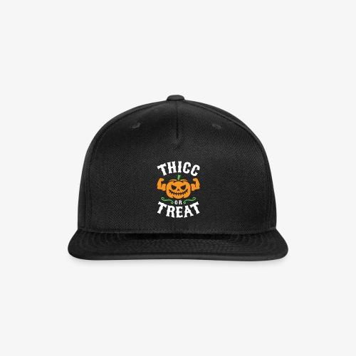 Thicc Or Treat - Snap-back Baseball Cap