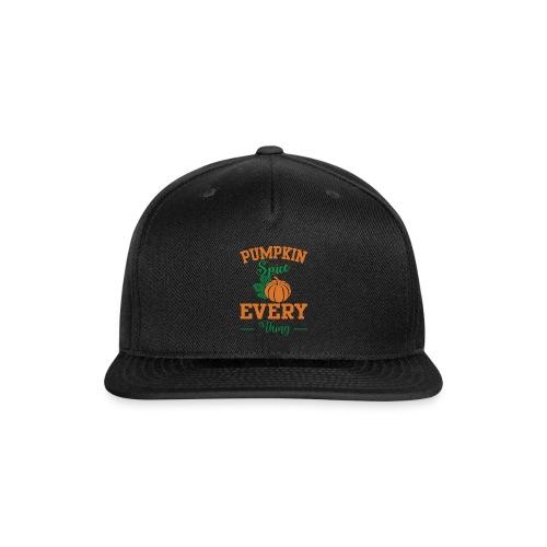 Pumpkin for halloween - Snap-back Baseball Cap
