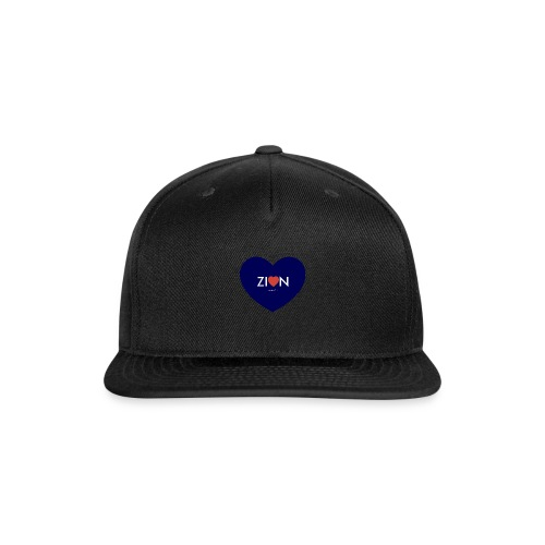 Zion in my heart/ I Won't Keep Silent - Snap-back Baseball Cap