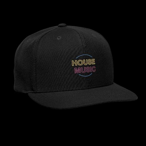 House Music - Snap-back Baseball Cap