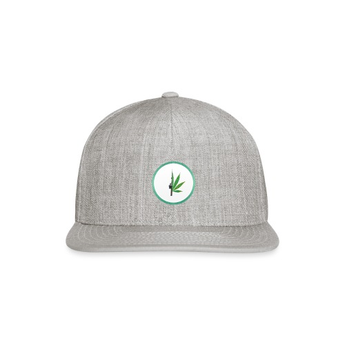 iCannGreen Logo - Snap-back Baseball Cap