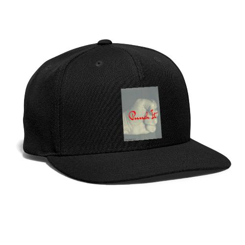 Punch it by Duchess W - Snap-back Baseball Cap