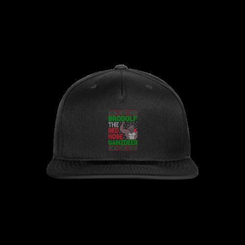 Brodolf The Red Nose Gainzdeer - Snap-back Baseball Cap