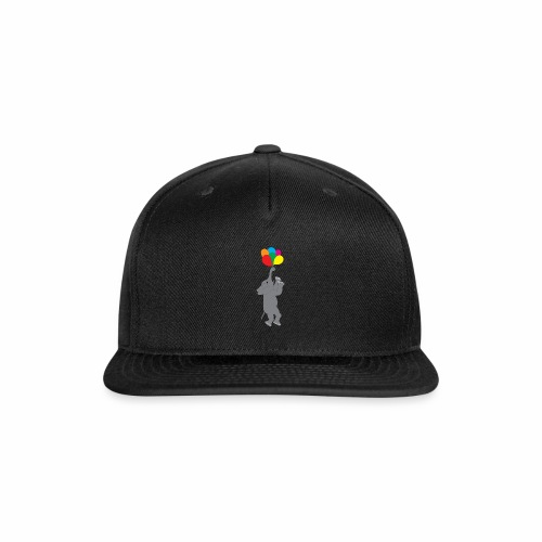 Flying Elephant 01 - Snap-back Baseball Cap