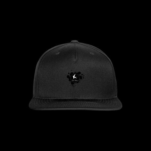 BlackBird Ink Spill Logo - Snap-back Baseball Cap