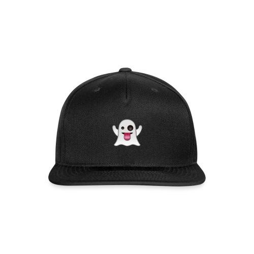 ghost face emo - Snap-back Baseball Cap