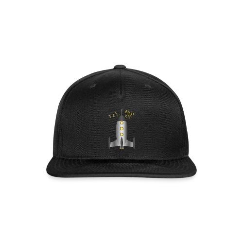 Rocket Blast Off - Snap-back Baseball Cap