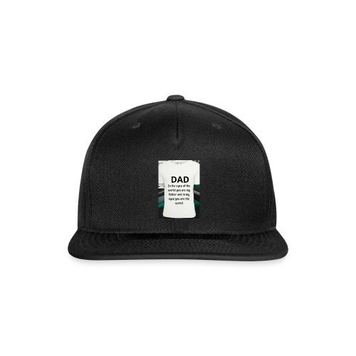 MonMon - Snap-back Baseball Cap