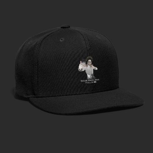 Social Media Jesus - Snapback Baseball Cap