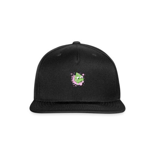 Camille spreadshirt design 01 png - Snapback Baseball Cap
