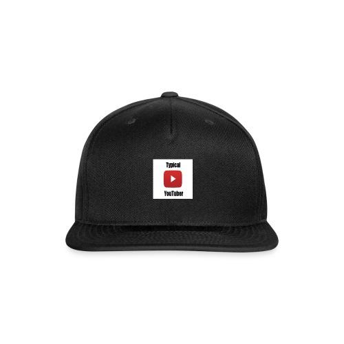 Typical YouTuber Logo - Snap-back Baseball Cap
