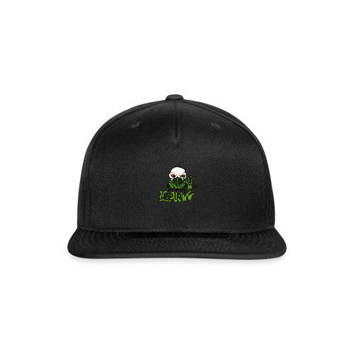 Leaking Gas Mask - Snap-back Baseball Cap