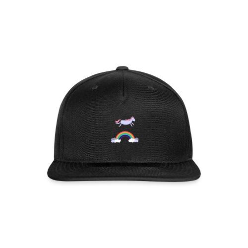 Flying Unicorn - Snap-back Baseball Cap