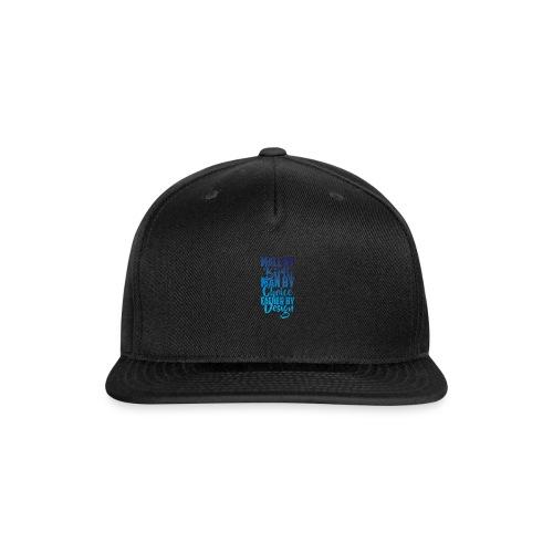 MALE BY BIRTH - MULTI BLUE - Snap-back Baseball Cap