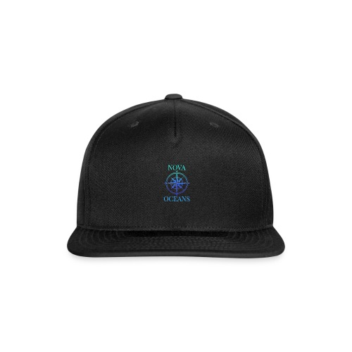 logo_nova_oceans - Snap-back Baseball Cap