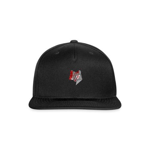 Abstract Wolf - Snap-back Baseball Cap