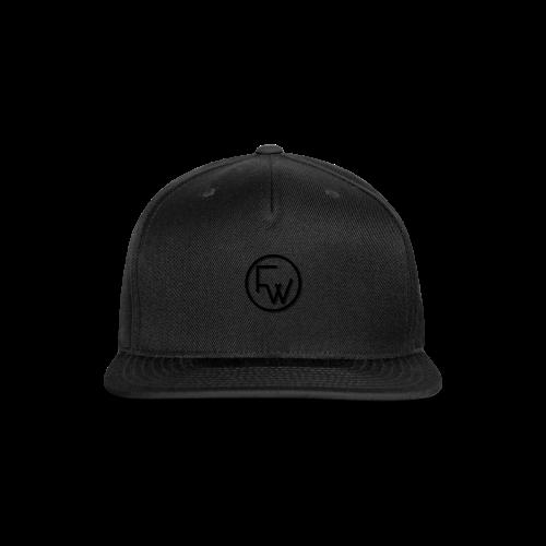 A Funny Wilson Production Black Logo - Snap-back Baseball Cap