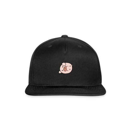 pig lazy - Snap-back Baseball Cap