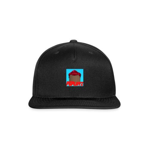 PGPlayz Sharp with Text - Snap-back Baseball Cap