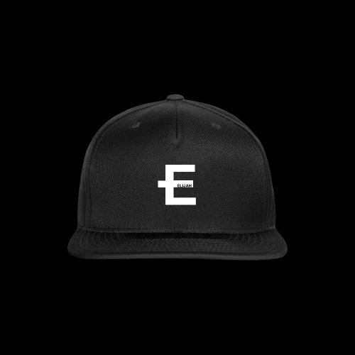 E - Snap-back Baseball Cap