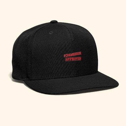 Chamber Dude Approved - Snap-back Baseball Cap
