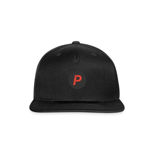 P - Snap-back Baseball Cap