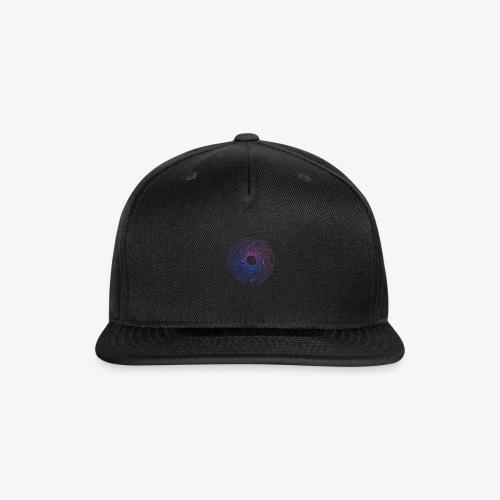 Gradient Circles 20 - Snap-back Baseball Cap