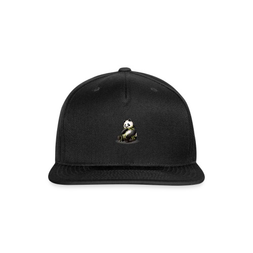 Hungry Panda - Snap-back Baseball Cap