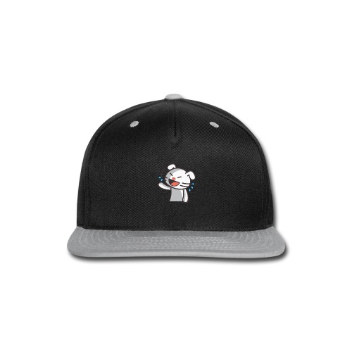 Laughing Cat - Snap-back Baseball Cap