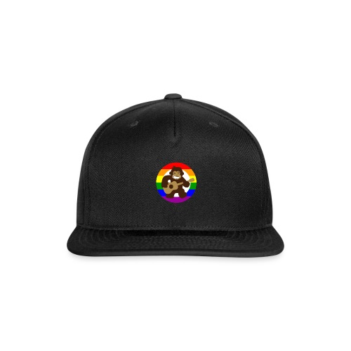 Rainbow Logo - Snap-back Baseball Cap