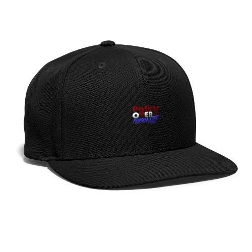Policy over personality - Snap-back Baseball Cap