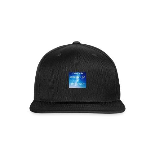 20161206_230919 - Snap-back Baseball Cap