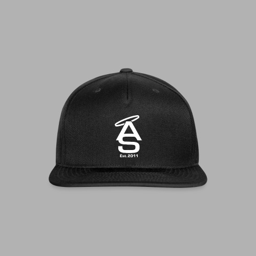 AS White - Snapback Baseball Cap