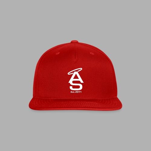 AS White - Snapback Baseball Cap